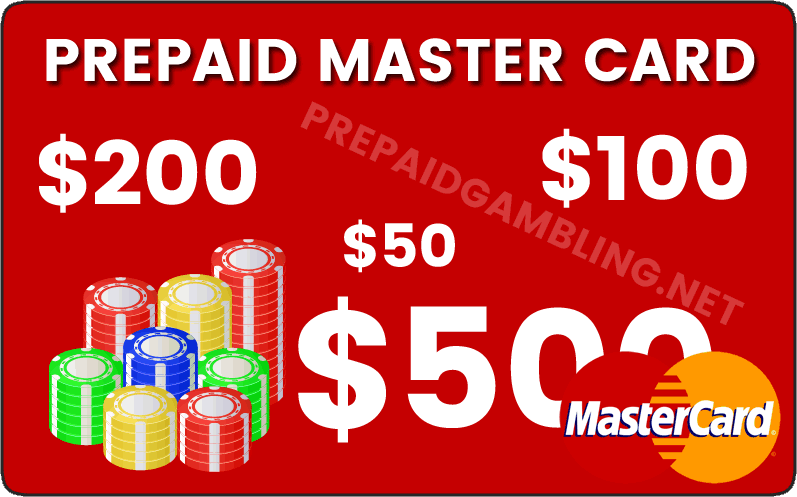 Prepaid MasterCard Casinos, Sportsbooks And Poker - Master Card Gambling
