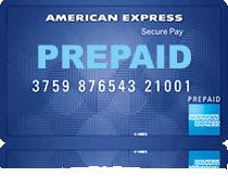 Prepaid Amex Card