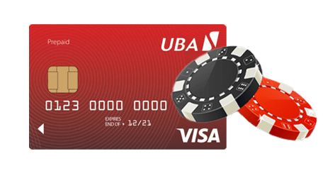Prepaid gambling cards