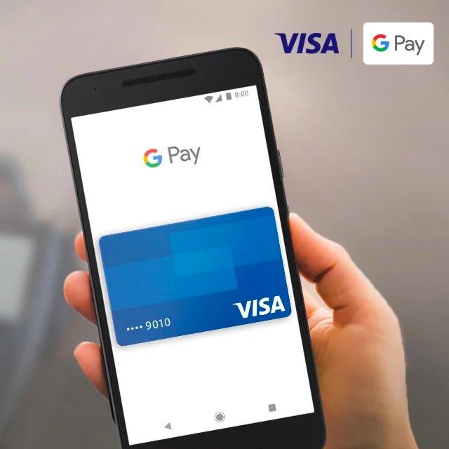 Google Pay with Visa